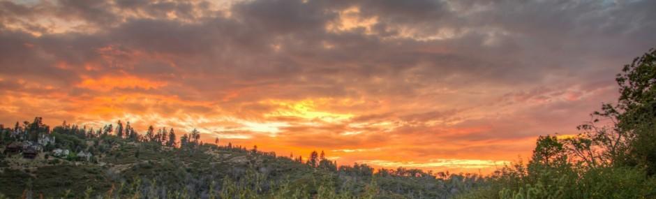 Sunset, Grass Valley
