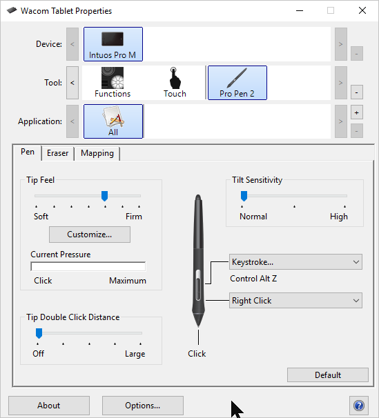 Wacom Intuos Pro tablet (model PTH660) thoughts